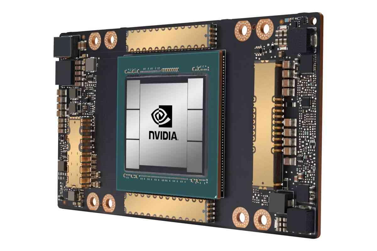Nvidia First AMPERE Data Center GPU