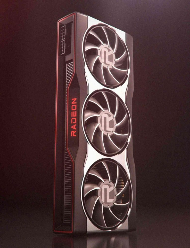 Radeon RX 6000 Graphics Card Render Image