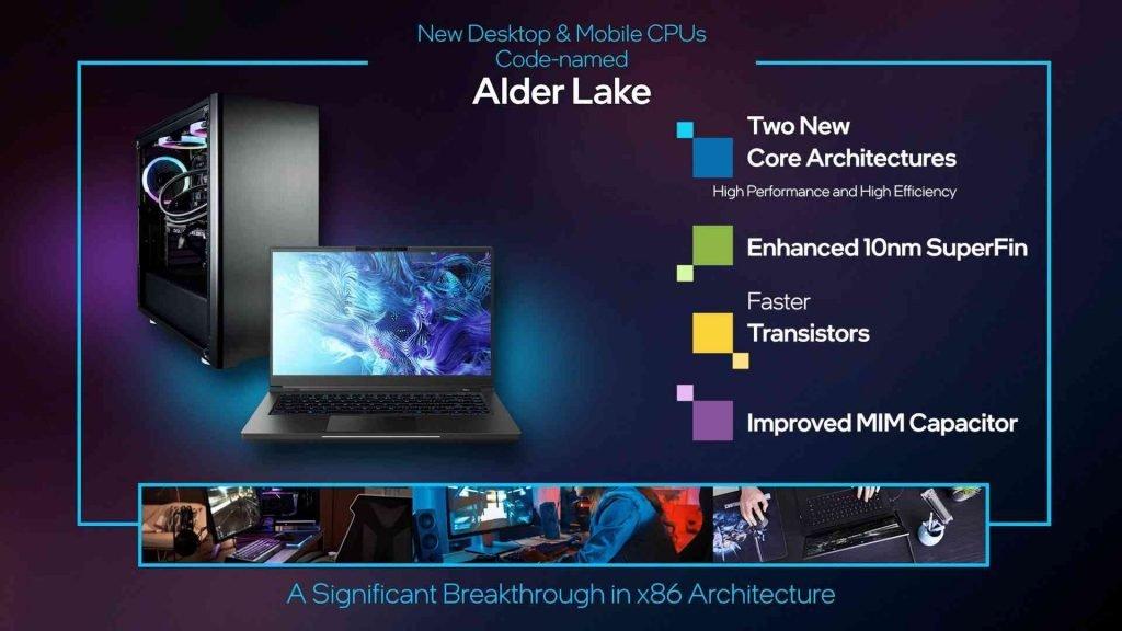 CES 2021 Intel Alder Lake