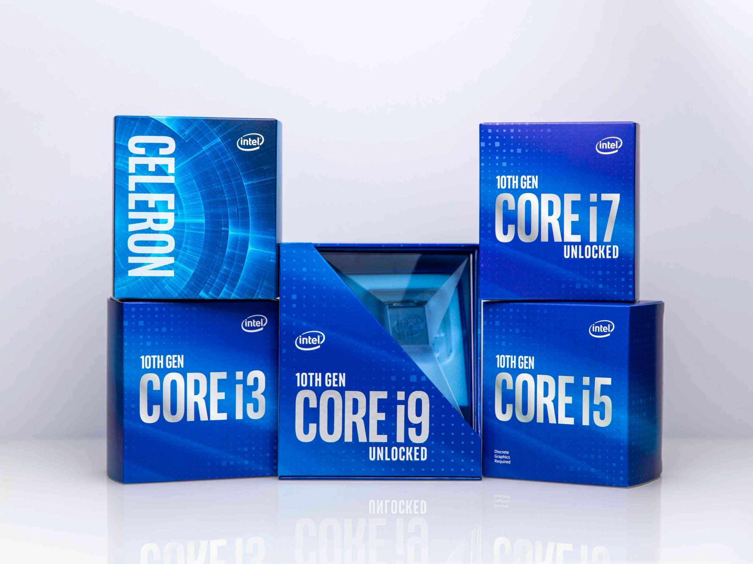 In April 2020, Intel announces new desktop processors as part of the 10th Gen Intel Core processor family. (Credit: Intel Corporation)