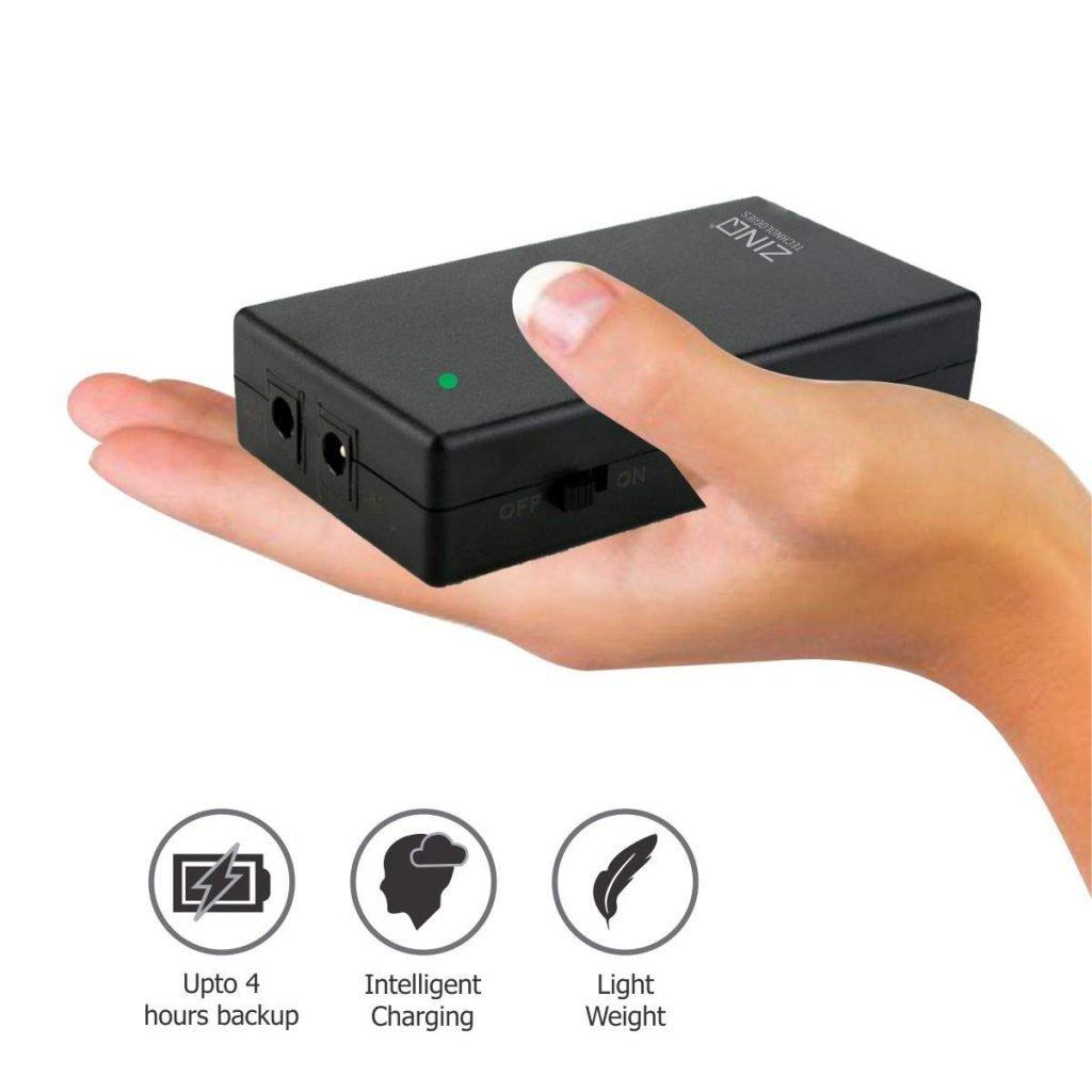 Zinq Technology router UPS