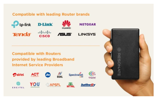 resonate router UPS compatible brands