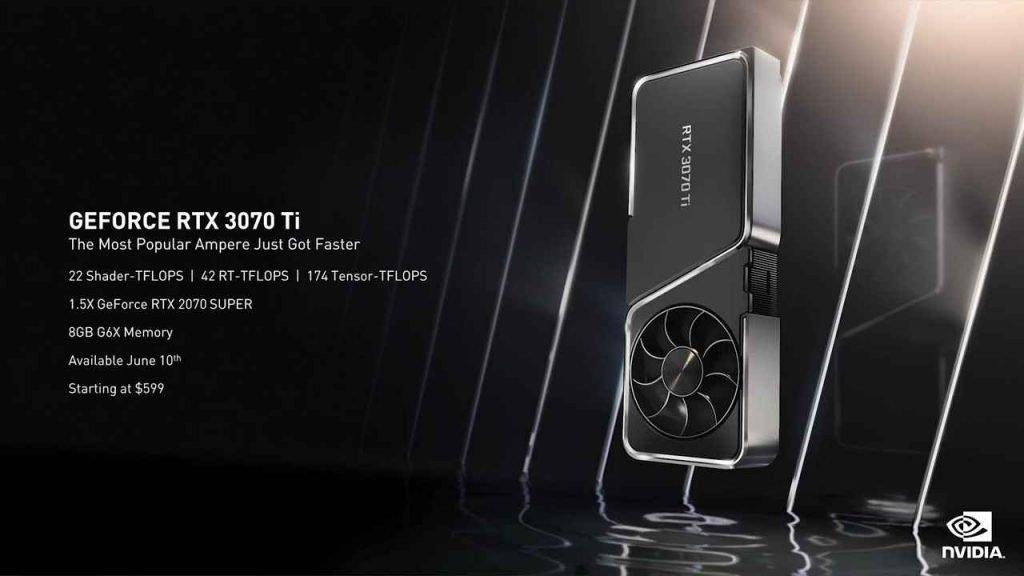 Nvidia RTX 3070 Ti Specs