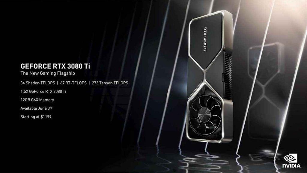 Nvidia RTX 3080 Ti Specs