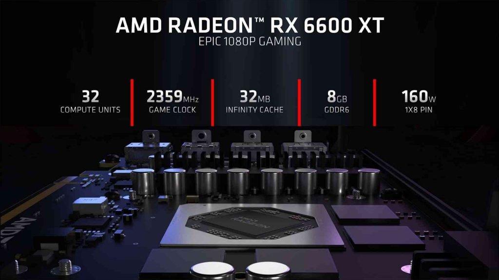 Radeon RX 6600 XT Specs