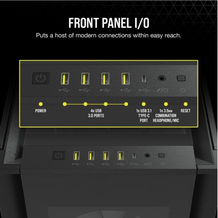 Front-panel I/O