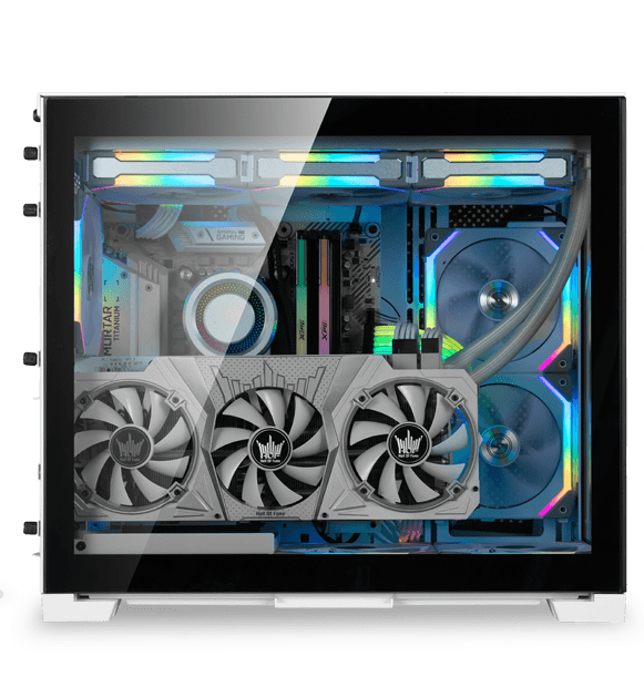 Vertical GPU mount